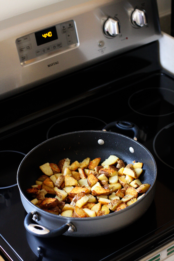 Old Fashioned Bacon Fried Potatoes Sweet Anna S