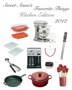 2012 favorite things kitchen