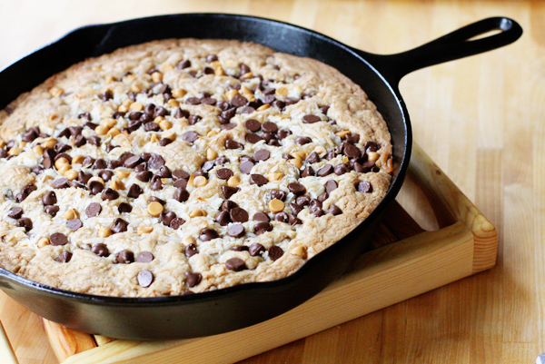 ... skillet cookie. And I will probably make another one tomorrow. :o