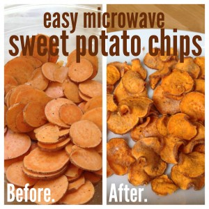 Easy homemade microwave sweet potato chips sweet annas have ccuart Choice Image
