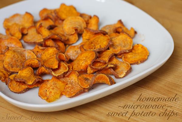 Easy homemade microwave sweet potato chips sweet annas easy homemade microwave sweet potato chips ccuart Choice Image