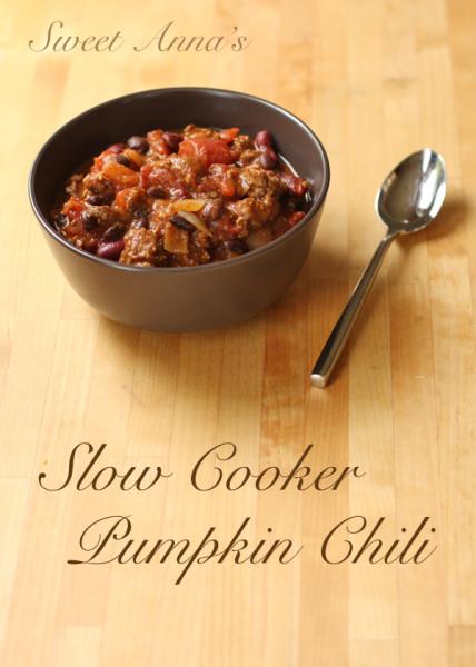 Sweet Anna's | Slow Cooker Pumpkin Chili
