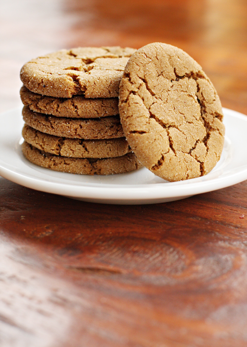 Chewy Browned Butter Molasses Cookies | Sweet Anna's