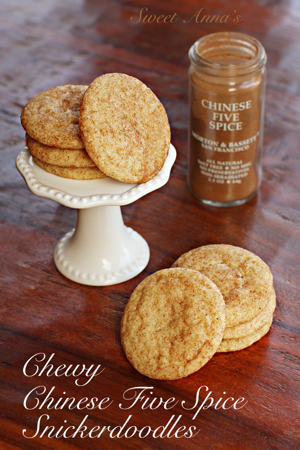 chinese five spice snickerdoodles | Sweet Anna's