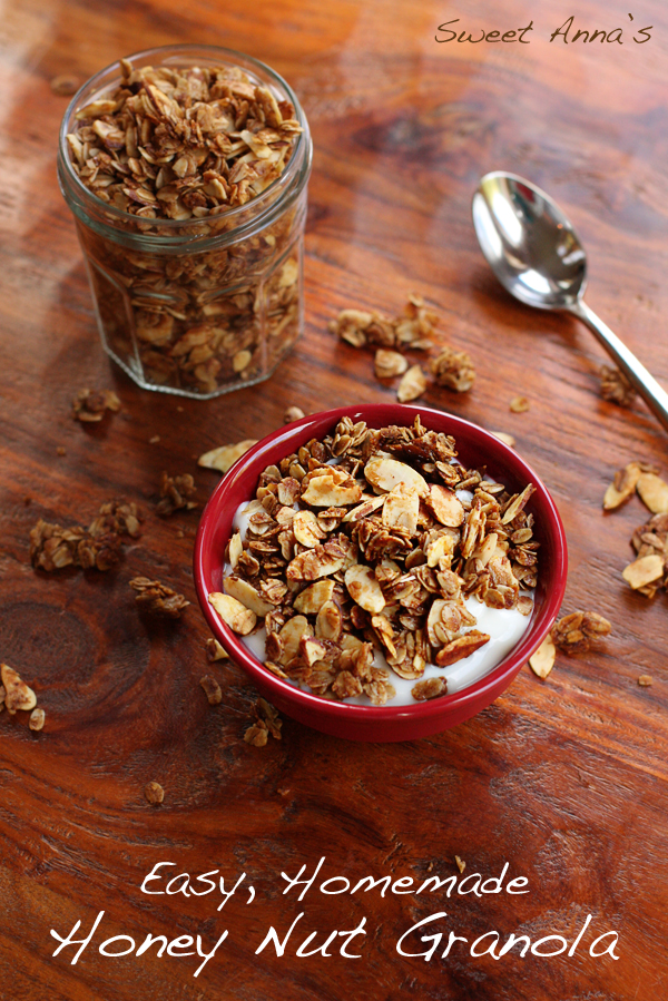 honey nut granola | Sweet Anna's
