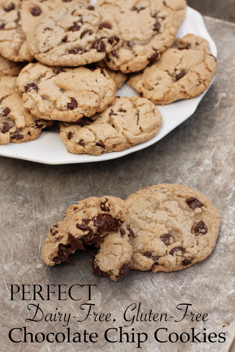 perfect dairy-free, gluten-free chocolate chip cookies | Sweet Anna's