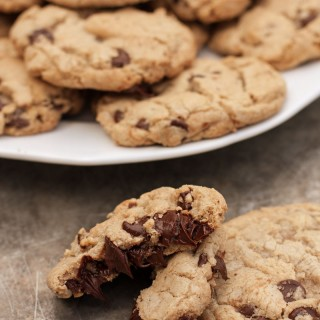 Perfect Dairy-Free Gluten-Free Chocolate Chip Cookies | Sweet Anna's