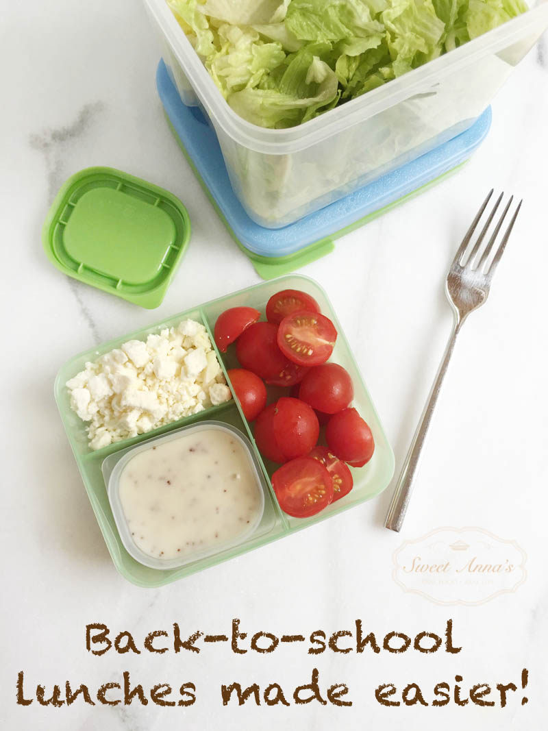 Back to School Lunches made easier with Rubbermaid!