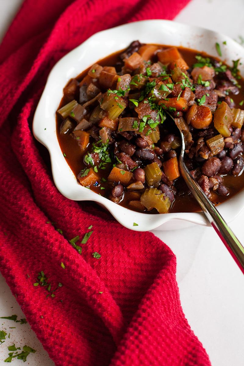 Instant Pot Black Bean Amp Ham Soup Sweet Anna S
